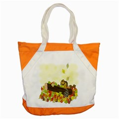 Squirrel Accent Tote Bag