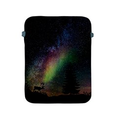 Starry Sky Galaxy Star Milky Way Apple Ipad 2/3/4 Protective Soft Cases by Nexatart