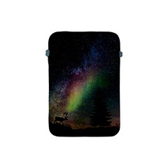 Starry Sky Galaxy Star Milky Way Apple Ipad Mini Protective Soft Cases by Nexatart