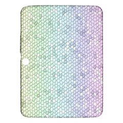 The Background Wallpaper Mosaic Samsung Galaxy Tab 3 (10 1 ) P5200 Hardshell Case  by Nexatart
