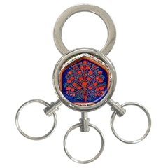 Tree Of Life 3 Ring Key Chains by Nexatart