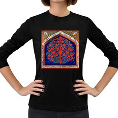 Tree Of Life Women s Long Sleeve Dark T-shirts by Nexatart