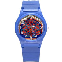 Tree Of Life Round Plastic Sport Watch (s) by Nexatart