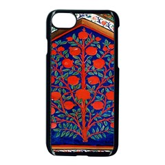 Tree Of Life Apple Iphone 7 Seamless Case (black) by Nexatart