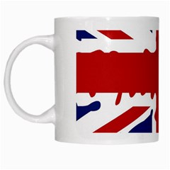Uk Splat Flag White Mugs