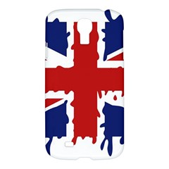 Uk Splat Flag Samsung Galaxy S4 I9500/i9505 Hardshell Case by Nexatart