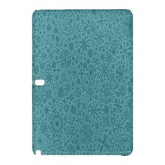 White Noise Snow Blue Samsung Galaxy Tab Pro 12 2 Hardshell Case
