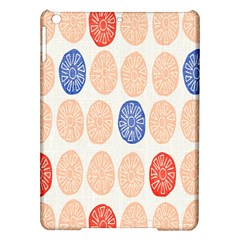 Wheel Circle Red Blue Ipad Air Hardshell Cases by Jojostore