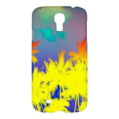 Tropical Cool Coconut Tree Samsung Galaxy S4 I9500/i9505 Hardshell Case