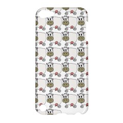Cow Eating Line Apple Ipod Touch 5 Hardshell Case