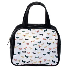 Dragonflies Animals Fly Classic Handbags (one Side)