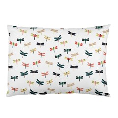 Dragonflies Animals Fly Pillow Case (two Sides)