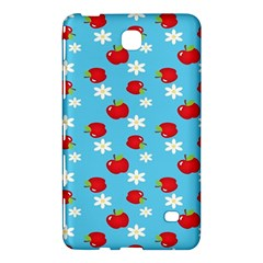 Fruit Red Apple Flower Floral Blue Samsung Galaxy Tab 4 (7 ) Hardshell Case