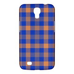 Fabric Colour Blue Orange Samsung Galaxy Mega 6 3  I9200 Hardshell Case by Jojostore