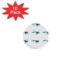Flying Dragonfly 1  Mini Buttons (10 Pack)