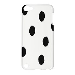 Gold Polka Dots Dalmatian Apple Ipod Touch 5 Hardshell Case by Jojostore