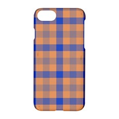 Fabric Colour Orange Blue Apple Iphone 7 Hardshell Case