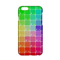 Number Alphabet Plaid Apple Iphone 6/6s Hardshell Case by Jojostore