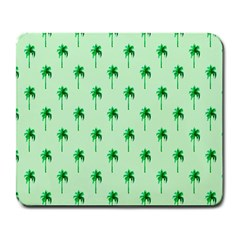 Palm Tree Coconoute Green Sea Large Mousepads by Jojostore