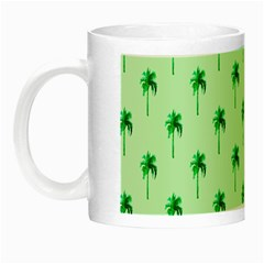 Palm Tree Coconoute Green Sea Night Luminous Mugs by Jojostore