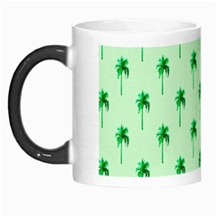 Palm Tree Coconoute Green Sea Morph Mugs by Jojostore
