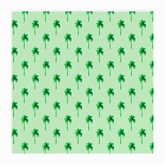 Palm Tree Coconoute Green Sea Medium Glasses Cloth (2-side) by Jojostore