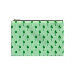 Palm Tree Coconoute Green Sea Cosmetic Bag (medium)