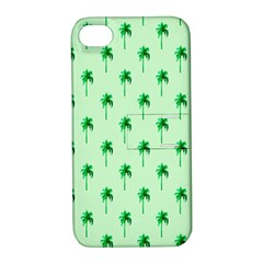 Palm Tree Coconoute Green Sea Apple Iphone 4/4s Hardshell Case With Stand by Jojostore