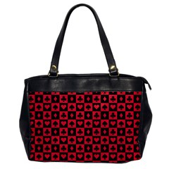 Queen Hearts Card King Office Handbags