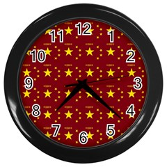 Chinese New Year Pattern Wall Clocks (Black)
