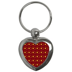 Chinese New Year Pattern Key Chains (Heart)