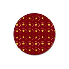 Chinese New Year Pattern Magnet 3  (Round)