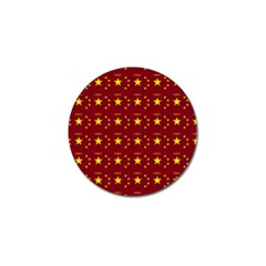 Chinese New Year Pattern Golf Ball Marker