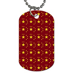 Chinese New Year Pattern Dog Tag (Two Sides)