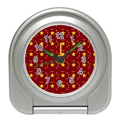 Chinese New Year Pattern Travel Alarm Clocks