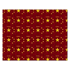 Chinese New Year Pattern Rectangular Jigsaw Puzzl