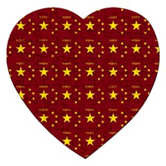 Chinese New Year Pattern Jigsaw Puzzle (Heart)