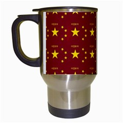 Chinese New Year Pattern Travel Mugs (White)