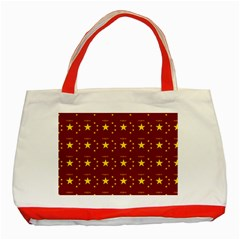Chinese New Year Pattern Classic Tote Bag (Red)