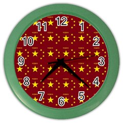 Chinese New Year Pattern Color Wall Clocks