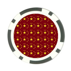 Chinese New Year Pattern Poker Chip Card Guard