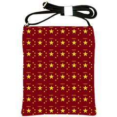 Chinese New Year Pattern Shoulder Sling Bags