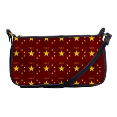 Chinese New Year Pattern Shoulder Clutch Bags