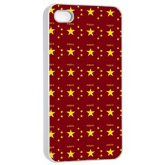 Chinese New Year Pattern Apple iPhone 4/4s Seamless Case (White)