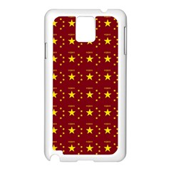 Chinese New Year Pattern Samsung Galaxy Note 3 N9005 Case (White)