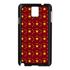 Chinese New Year Pattern Samsung Galaxy Note 3 N9005 Case (Black)