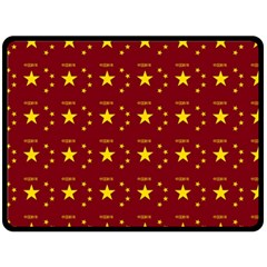 Chinese New Year Pattern Double Sided Fleece Blanket (Large)
