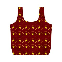 Chinese New Year Pattern Full Print Recycle Bags (M)