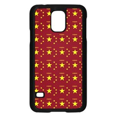 Chinese New Year Pattern Samsung Galaxy S5 Case (Black)
