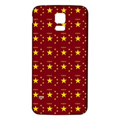 Chinese New Year Pattern Samsung Galaxy S5 Back Case (White)